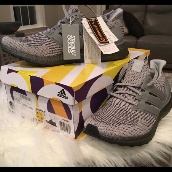 Adidas zapatos ultraboost 30 Limited triple GRIS 105 hombres poshmark